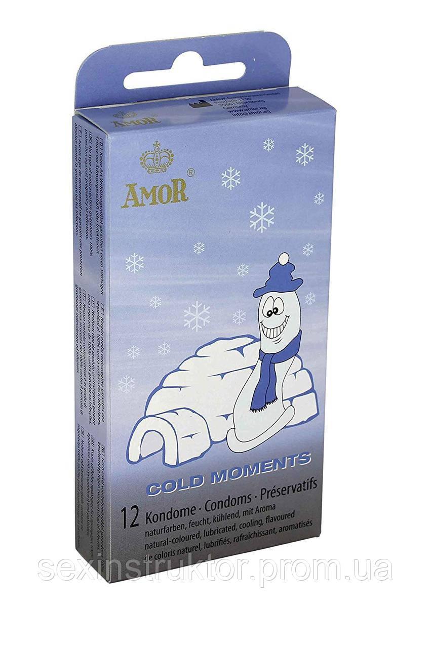 Презервативы - AMOR Cold Moments 12er-Packung