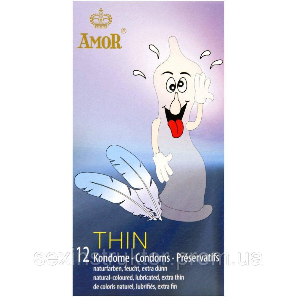 Презервативы - AMOR Thin 12er-Packung