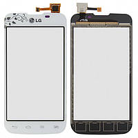 Touchscreen (сенсорный экран) для LG Optimus L5 Dual Sim E455 La Fleur, оригинал