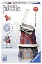 Объемные пазлы 3D Ветряная мельница' Ravensburger  125630