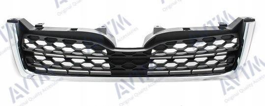 Решетка радиатора Subaru Forester 2013- черн.с хром.молдингом (Тип 1)