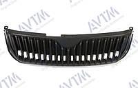 Решетка радиатора Skoda Superb (3T) 2009-2013 черн.с хром. рамкой 3T0853668A