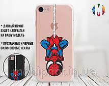 Силиконовый чехол для Apple Iphone 8 plus Человек паук (4023-2019)