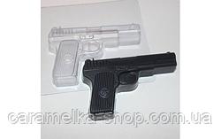 Форма для шоколада Пистолет, пластик