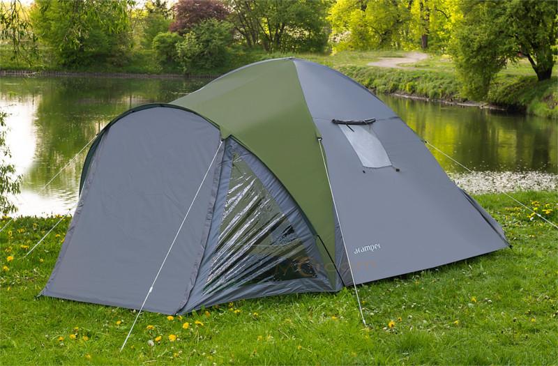 Палатка Vega 4 клеенные швы тамбур