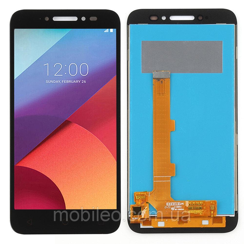 Дисплей (LCD) Alcatel 5080 One touch Shine Lite   5080A   5080D   5080X с тачскрином, чёрный