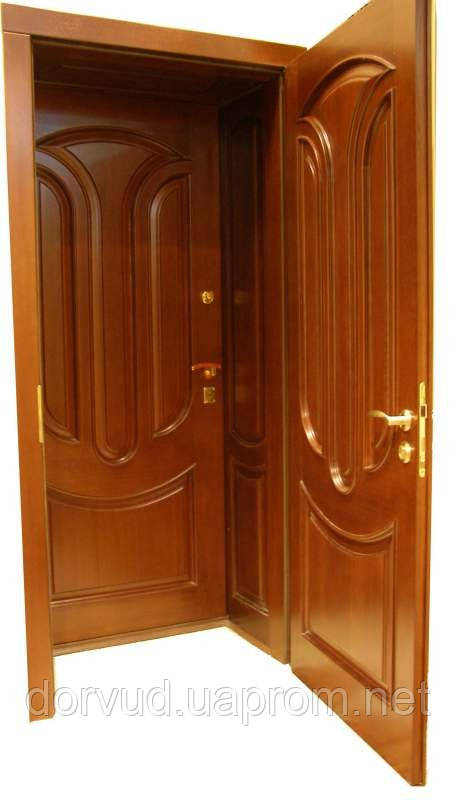 Двери входные тамбурные, распашные Д 7