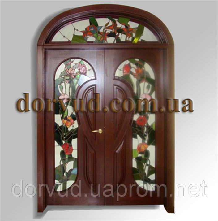 Двери межкомнатные деревянные из массива для дома  29