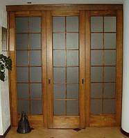Двухстворчатые межкомнатные двери нестандартного размера ДР 1-0