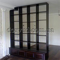 Мебельная перегородка для зонирования комнаты