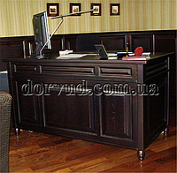 Стол кабинетный из натурального дерева 1