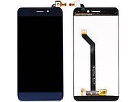 Дисплей (LCD) Huawei Honor 6C Pro | Honor V9 Play | JMM-L22 с тачскрином,  синий (изогнутый шлейф)
