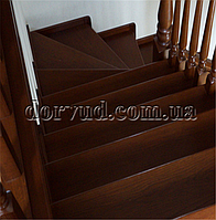 Лестница для дома из цельного дерева Л 26