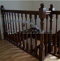 Лестница и поручни из дерева Л 3-1