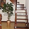 Лестница из цельного дерева Л 2