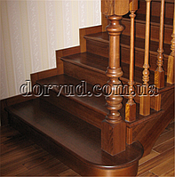Лестница цельнодеревянная Л 11