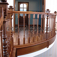 Лестница цельнодеревянная Л 1-2