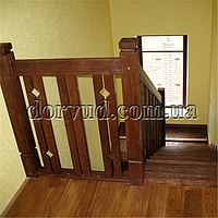 Лестница цельнодеревянная Л 25