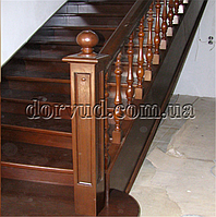 Лестница цельнодеревянная Л 27