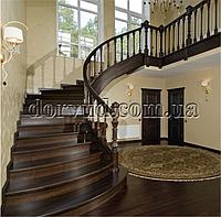 Лестница элитная из цельного дерева Л 1