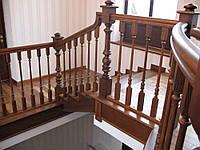 Лестницы из массива Л 1-2
