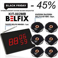 Комплект кнопок вызова официанта  - Готовый Комплект BELFIX,  KIT-002MB