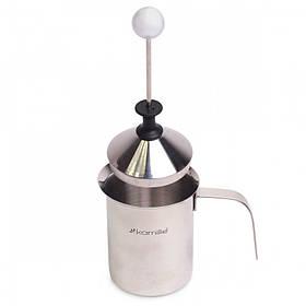 Вспениватель Kamille для молока с крышкой 400 мл KM-5841