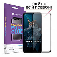 Защитное стекло MakeFuture для Huawei Honor 20/20 Pro Black Full Glue, 0.33 mm (MGF-H20)