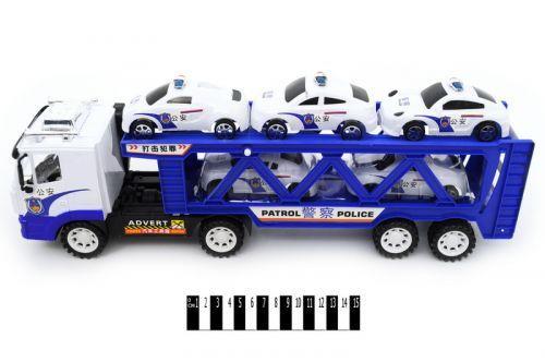 Трейлер (с машинками, колпак) 9068