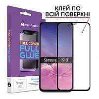 Защитное стекло MakeFuture для Samsung Galaxy S10e SM-G970 Black Full Glue, 0.33 mm (MGF-SS10E)