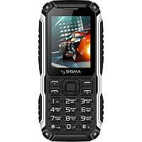 "Мобильный телефон Sigma mobile X-treme PT68 Dual Sim Black; 2.4"" (320х240) TN / Spreadtrum 6531E / microSD до 32 ГБ / камера 0.3 Мп / 2G (GSM) /"