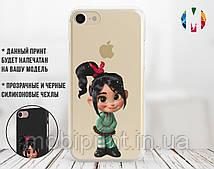 Силиконовый чехол для Xiaomi Redmi Note 7 Девочка (13033-2026)