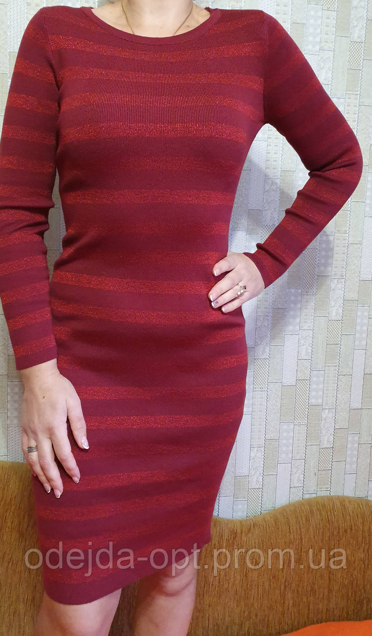 Платье люрикс новый год