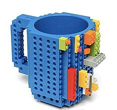 Чашка-конструктор Unique Minecraft 350 мл Синяя (legocup_blue)