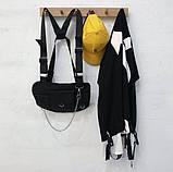 Бронежилет HGUL+BAG нагрудная сумка 0004 черная, фото 2