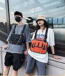 Бронежилет HGUL+BAG нагрудная сумка 0004 черная, фото 3