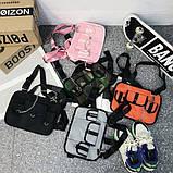 Бронежилет HGUL+BAG нагрудная сумка 0004 черная, фото 5