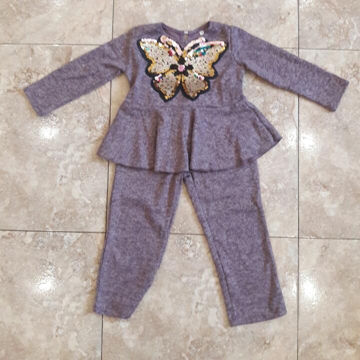 Домашний  костюм для  маленькой девочки.