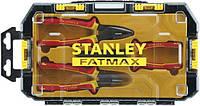 """Набор шарнирно-губцевого инструмента """"FatMax® VDE"""" (пассатижи, длинногубцы, бокорезы) STANLEY FMHT0-81157"""