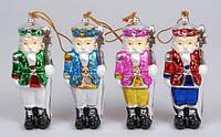 Новогодняя Декоративная статуэтка-подвеска Щелкунчик 11.4см, 4 вида 141-A80