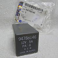 Реле дворников стеклоочистителей Ланос, Сенс, серое (7-ми контактное) GM 94788146