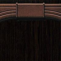 Добавочный комплект к арке Новый Стиль ПВХ 400 венге new DeLuxe