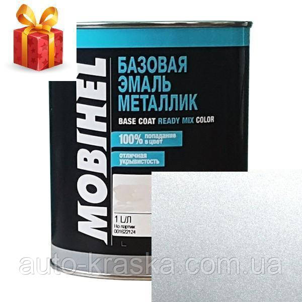 Автокраска Mobihel металлик 640 Серебристая 1л.