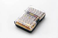 Набор 44 биты 1/4 + битодержатель CrV ( пластиковый кейс) СИЛА
