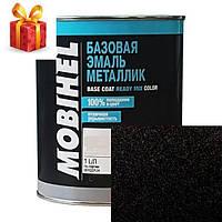 Автокраска Mobihel металлик 635 Черный Шоколад 1л.