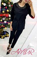 Костюм женский нарядный с брюками СЕР276