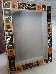Коробка для кухонних рушників Кави картон 215х165х40