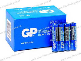 Батарейки GP ААА R-03