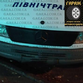 """Зимняя накладка Mercedes Sprinter TDI 95-00 На решетку радиатора Глянец """"FLY"""""""