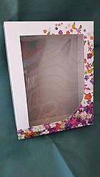 Коробка для кухонних рушників Метелики картон 215х165х40